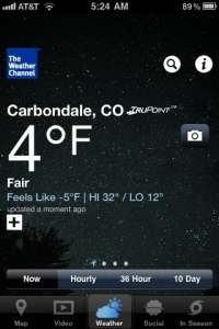 FREAKING COLD!