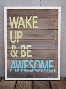 4:20am wake-up call!
