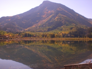Beaver Lake in Marble, CO