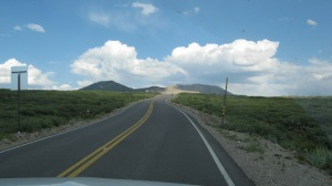 Driving over Independence Pass