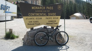 Woohoo!  Monarch Pass!