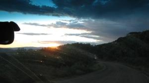 Sunset over Kebler Pass