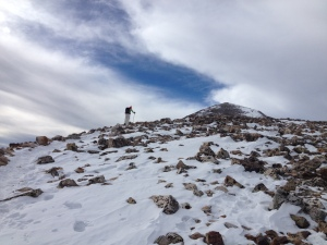 The peak is just up ahead!