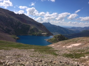 Breathtaking!  You can really see a long way off towards Telluride.